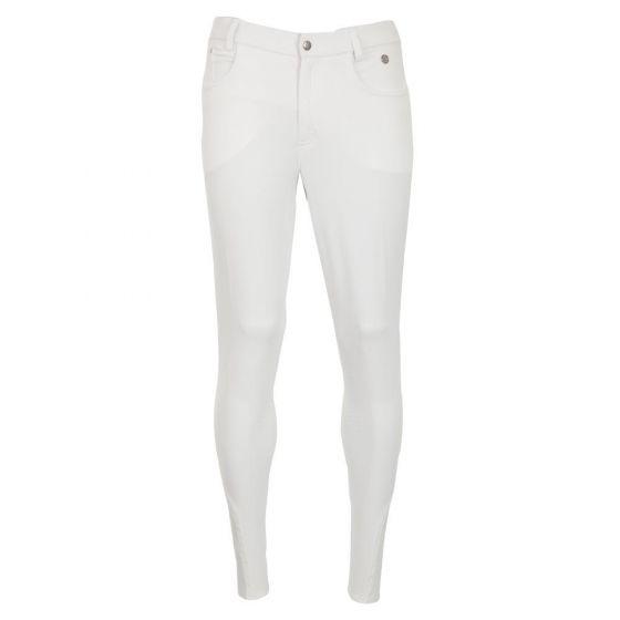 BR Pantaloni da equitazione Leeds da uomo in silicone al ginocchio