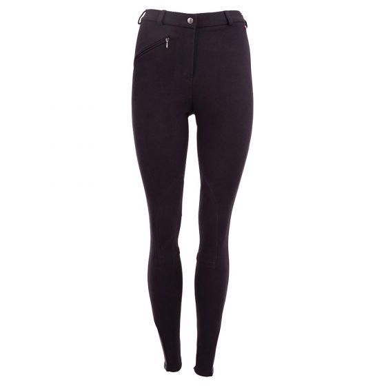 Premiere Pantaloni da equitazione Dahlia II da donna con toppe in tessuto sulle ginocchia