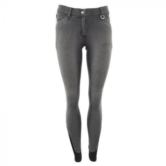 BR Pantaloni da equitazione Mette da donna con seduta in silicone