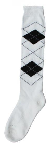 Hofman calzini al ginocchio RE 35/38 White/Black