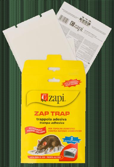 Zapi Zap Trap Glue per topi e amp; insetti 15x21cm