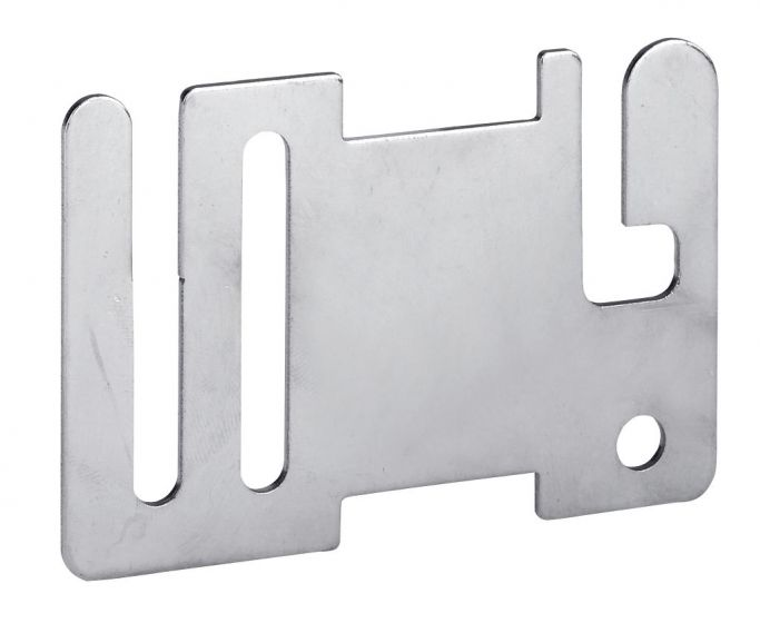 Hofman Nastro Recinto Inizio/ Piastra terminale in acciaio inox
