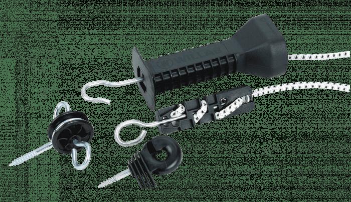 Impuls Maniglia per cancello Set zip elastica