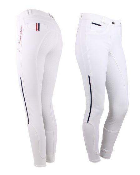 QHP Pantaloni da equitazione Coco sedile antiscivolo