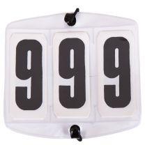 Inizia numeri bianchi