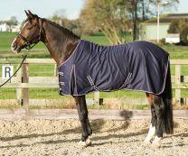 Harry's Horse Coperta estiva in polycotton MARINO