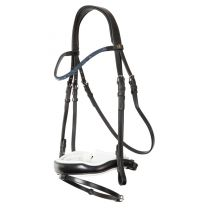 BR Bridle Newcastle double anatom.full noseband