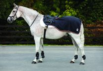 Coperta da competizione impermeabile Horseware Rambo Waterproof Fleece Competition Sheet