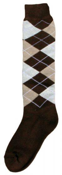 Hofman calzini al ginocchio RE 39/42 Dark Brown