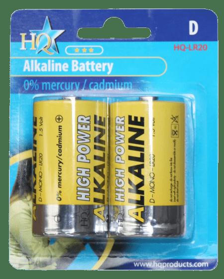 Hofman Batteria tipo D alcalina 1,5 V