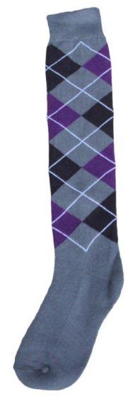 Hofman calzini al ginocchio RE 39/42 Purple/Silver