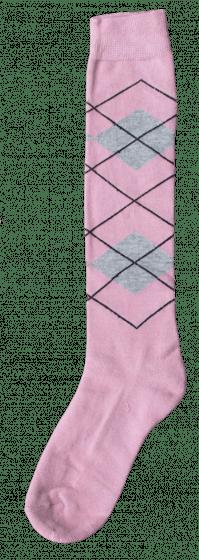 Excellent Calzini al ginocchio RE l rosa / l grigio 43-46