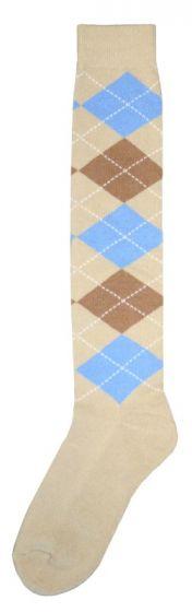 Hofman calzini al ginocchio RE 43/46 Blue/Brown