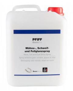PFIFF Spray lucidante per pettine, coda e pelo Basicline