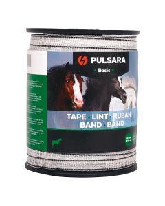 Pulsara Fettuccia Basic 12.5mm 200m bianco