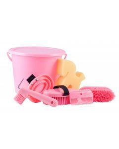 PFIFF Set per la pulizia in un secchio chiudibile a chiave