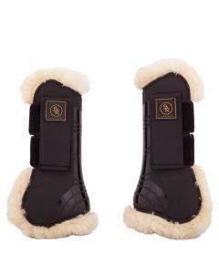 BR Cinghie per stivali da equitazione tendine BR Snuggle imitazione pelle di pecora