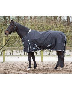 Coperta Harry's Horse Thor 0 grammi con fodera in pile nera
