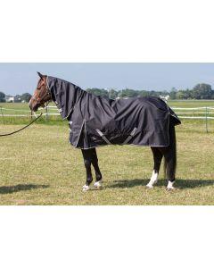 Tappeto da pioggia Harry's Horse Thor 0gr. con collo Stretch limousine
