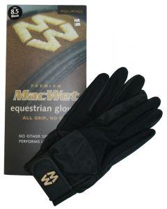 Hofman Guanti da equitazione Micro Mesh 9 Black