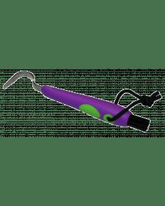 Hofman Simpatico plettro + spazzola viola / verde