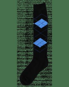 Excellent Calzini al ginocchio RE nero / azzurro 43-46
