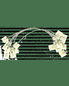 Hofman Ancoraggio adesivo per mangime stabile su entrambi i lati + gancio