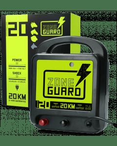 ZoneGuard Dispositivo per recinzione elettrica ZoneGuard Rete elettrica 20 km
