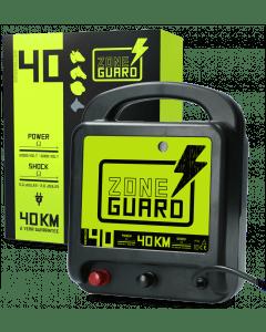 ZoneGuard Elettrificatore a nastro per recinti Elettrici Rete 40 km