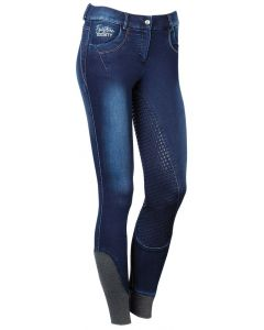 Harry's Horse Pantaloni da equitazione Denim Greyton Full Grip