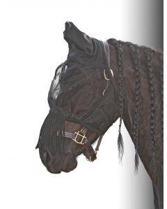 Harry's Horse Maschera antimosche con frange Flyshield