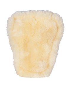 BR Fodera cinghie per stivali da equitazione con tendine in pelle di pecora