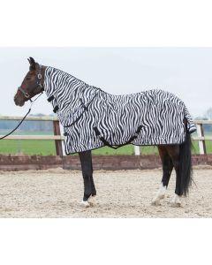 Harry's Horse Coperta antimosche con collo staccabile zebra