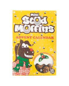 Stampo per muffin AW18 24x12gr.Mini muffin m / calendar VE6