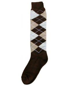 Hofman calzini al ginocchio RE 35/38 Dark Brown