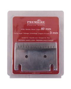 Lama da taglio Premiere macchina da rasatura3mm (lama da 80mm)