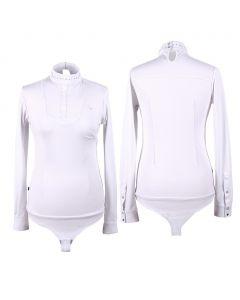 Camicia da concorso QHP Body Belle White