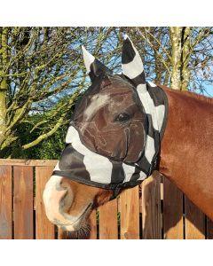Bucas Maschera Buzz-Off Zebra Deluxe con orecchie