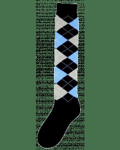 Excellent Calzini al ginocchio RE d.blue / grigio / blu 43-46