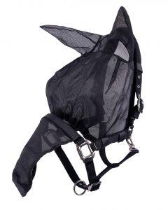 QHP Combi cappuccio halter-fly con orecchie