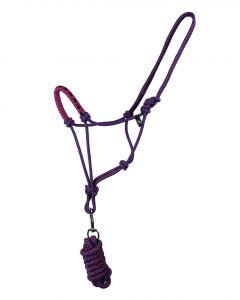 QHP Set cavezza in corda