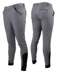 QHP Pantaloni da equitazione Jason con seduta antiscivolo