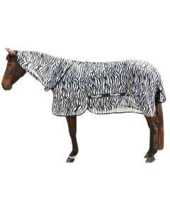 Hofman Coperta antimosche Zebra con collo incluso