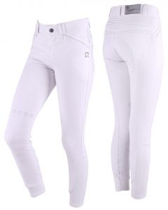 QHP Pantaloni equitazione Florinthe Junior gamba grip