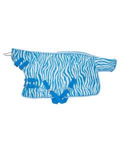 Coperta antimosche Harrys Horse in blu di Francia