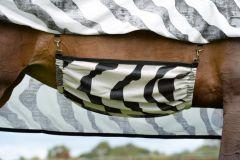 Bucas Buzz-Off Belly Flap Zebra