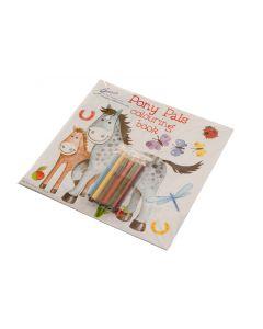 Libro puzzle da colorare 'Pony Pals'