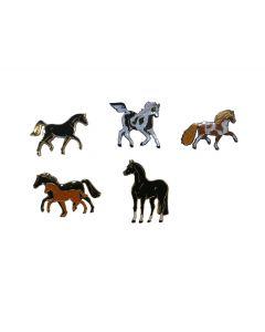 Medaglietta a forma di cavallo