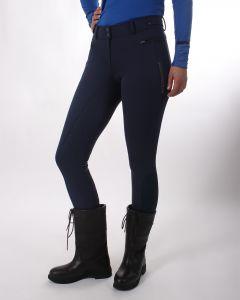 QHP Pantaloni da equitazione softshell Aylinn con seduta antiscivolo