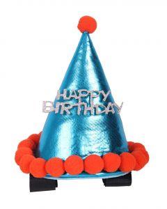 QHP Cappello di compleanno cavallo Sky